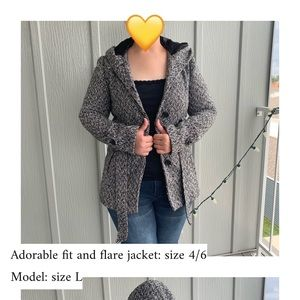 Fit and Flare Jacket